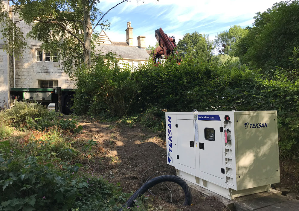 New Teksan generator for Private Estate